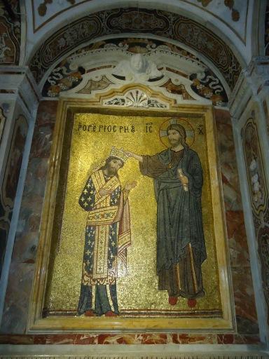 Al parece esta es la única representación (aunque sea idealista) del rey normando Rogelio II