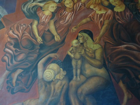 """La maternidad"", Orozco, 1923 ..."