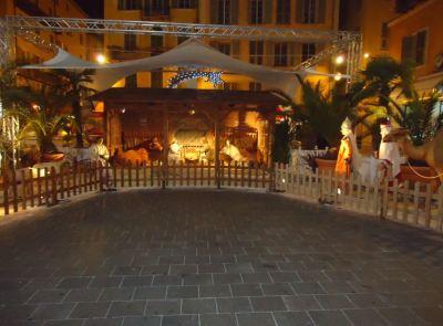 La crèche de la place Rossetti / El Nacimiento de la plaza Rossetti.