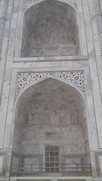 Taj Mahal mausoleo 8